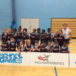 St Lukes race to sportshall athletics win