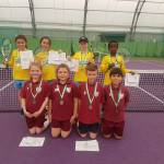 The Downs take Year 3/4 Tennis title