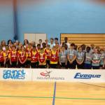 Church Langley squeeze home a sportshall win