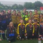 Church Langley crowned Football Cup Winners
