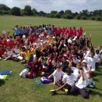 Year 3 and 4 enjoy Cricket Festival Success