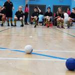 Boccia and Kurling Festival - exhausting!