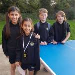 Inaugural Table Tennis Tournament success