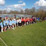 HUGE numbers attend MHA Cross Country event