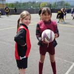 Youngsters enjoy Netball fun at Mark Hall