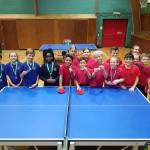 Fawbert and Barnard take Table Tennis trophy