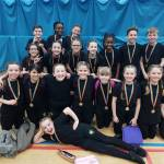 Cheerleading success for Harlow