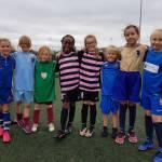 Year 3/4 Girls Football Festival – superb