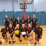 Church Langley take Basketball Trophy