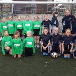 Henry Moore Girls take Football trophy